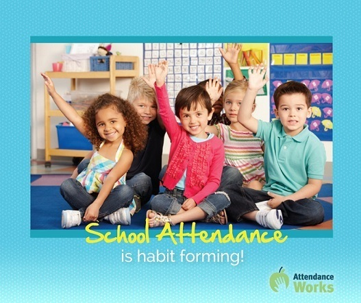 School Attendance is habit forming!