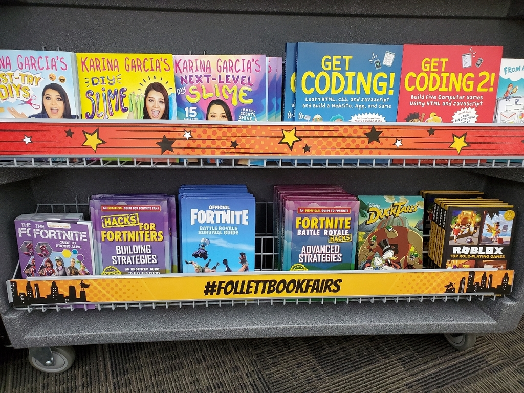 Fortnite and Coding Books